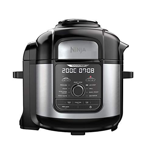 Ninja OP500EU Multi Cooker Multikocher, Brushed Stainless
