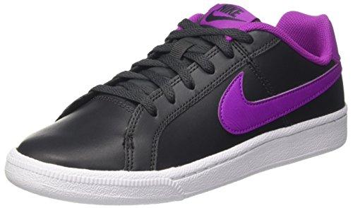 Nike Jungen und Mädchen Court Royale (GS) Tennisschuhe, Mehrfarbig (Anthracite/Hyper Violet/White), 38 EU