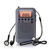 Best Las radios de bolsillo - Mini Radio Portatil Pequeña Digital Radio de Bolsillo Review