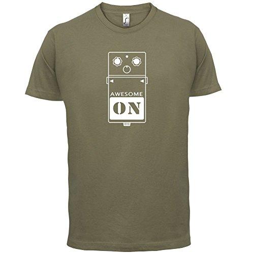 Gitarren Pedal - Herren T-Shirt - 13 Farben Khaki