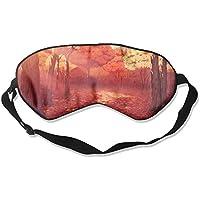 Sleep Eye Mask Fall Leaves Forest Lightweight Soft Blindfold Adjustable Head Strap Eyeshade Travel Eyepatch E13 preisvergleich bei billige-tabletten.eu