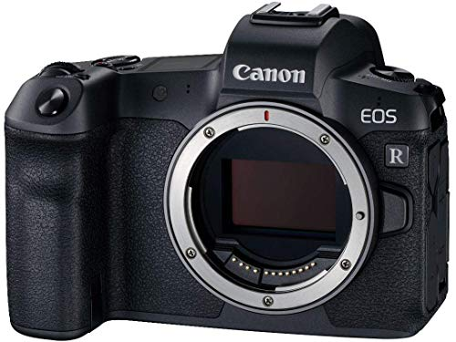 Canon EOS R Gehäuse mit Bajonettadapter EF-EOS R (Vollformat-Systemkamera, 30,3 MP, 8, 01cm (3,2 Zoll) Clear View LCD II, DIGIC 8, 4 K Video, WLAN, bluetooth)