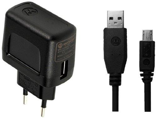 Motorola SPN5507A USB Netz-Ladegerät / Adapter 850mA - schwarz