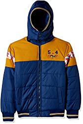 Fort Collins Boys Regular Fit Synthetic Jacket (17014_Royal Blue_20 (2 - 3 years))