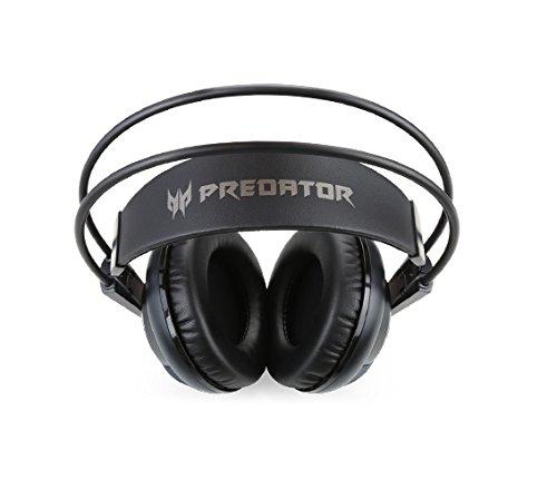 Acer Predator Gaming Headset (3,5 mm Klinke, Stereo Sound, Kopfband, verkabelt) schwarz