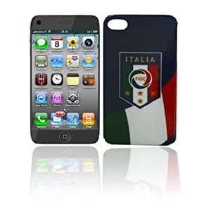AZ FLAG – COQUE pour IPHONE 4/4S Motif ballon de foot Italie