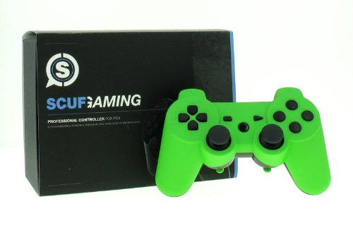 SCUF GAMING INTERNATIONAL - MANETTE SCUF PS3 GREEN