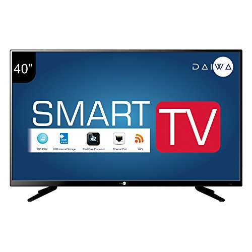Daiwa L42FVC4U 102 cm (40 inches) Full HD LED Smart TV (Black)