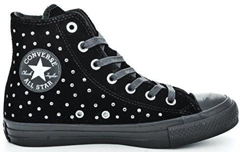 Converse 558991C Sneakers Damen Schwarz 40 (Converse Schuhe Schwarz Leder)