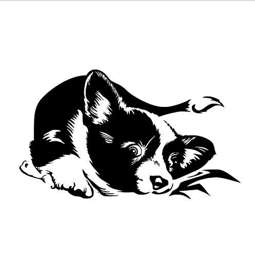 Wohnkultur Wandaufkleber Für Kinderzimmer Hund Selbstklebende Vinyl Tier Wandbild Wandtattoo Tapete Dekoration 99 * 58 cm ()
