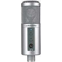 Audio-Technica ATR2500 - Micrófono (30 - 15000 Hz, 16 Ohmio, Alámbrico, 1,8m, 5V, Plata)
