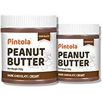 Pintola Creamy Choco Peanut Butter, 350 g (Pack of 2)