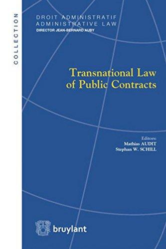 Transnational Law of Public Contracts par Mathias Audit