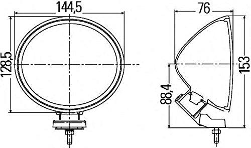 HELLA 1F4 007 893-841 Kit Profondità Comet FF 200