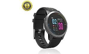 MevoFit Race-Thrust ECG-Smart-Watch for Fitness & Health PRO Sporty-Health-ECG-Smart-Watch, All Activity Tracking