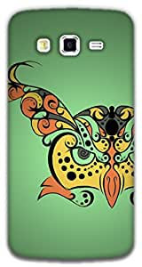 The Racoon Grip Hypnoowl Green hard plastic printed back case / cover for Samsung Galaxy Grand 2