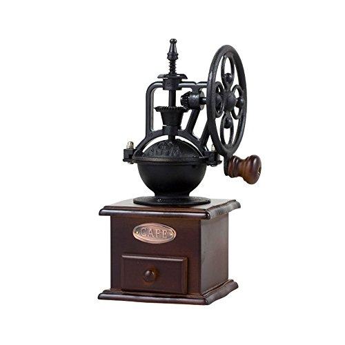Broyeur à main/moulin à café/moulin à café/machine à café/moulin à roue Vintage (2 couleurs en option) (couleur : A)