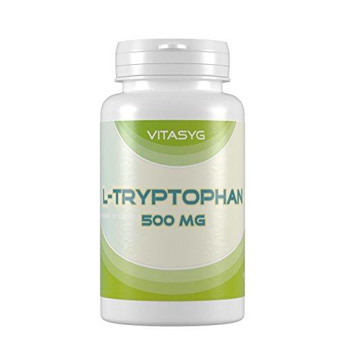 Vitasyg L-Tryptophan, 500 mg - 120 Kapseln, 1er Pack (1 x 0.081 kg)