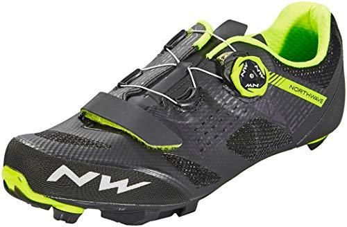 Northwave Razer MTB Fahrrad Schuhe schwarz/gelb 2019: Größe: 43.5