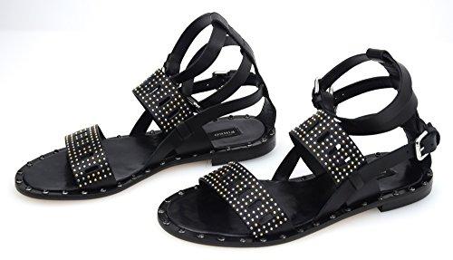 PINKO BLACK SHOES Donna Calzature Sandali (Product Code 1p20rg/y2cpz99/nero limousine)