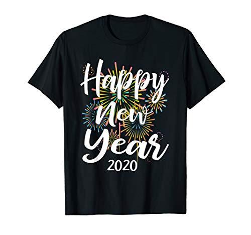 Neues Frohes Jahr Kostüm - Frohes Neues Jahr Silvester 2020 Shirt Mit Feuewerk Gift