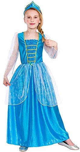 Ice Blue Princess (8-10) (Ice Princess Fancy Dress Kostüm)