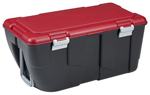 allibert-229193-discover-malle-de-rangement-avec-2-roues-poignee-noir-rouge-plastique-81-x-43-x-38-c
