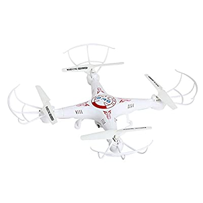 X5C-1 0.3MP 2.4GHz 4CH 6Axis Gyro RC Quadcopter HD Camera Drone Helicopter kids toys White
