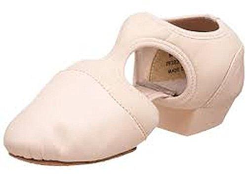 pp323-pedini-femme-capezio-pink-leather-us-75-uk-55-medium-new
