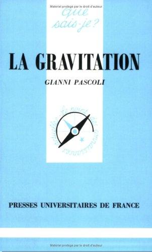 La gravitation par Gianni Pascoli