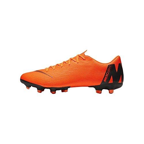 Nike Unisex-Erwachsene Mercurial Vapor XII Academy MG Fitnessschuhe, Mehrfarbig (Total Orange/Black-T 810), 44.5 EU (Stollen Vapor Nike Mercurial)