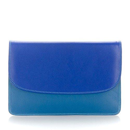 Mywalit portafoglio in pelle, stile 1201-Borsa da viaggio Multicolore (Paesaggio marino)