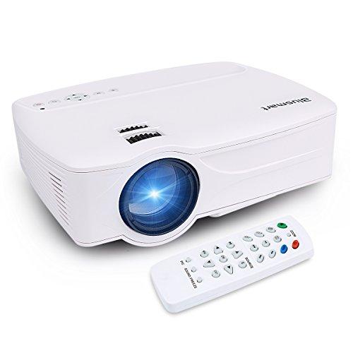 Mini Proyector, Blusmart LED-9 Inicio proyector de v¨ªdeo, multimedia Proyector del teatro...