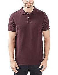ESPRIT 027ee2k024, Polo para Hombre, Rojo (Bordeaux Red), Medium