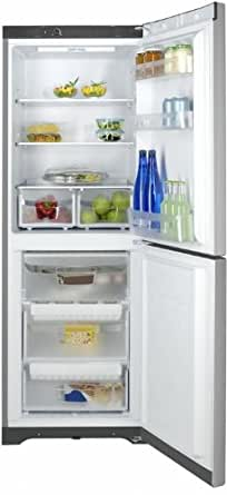 Indesit BIAA 12 X Autonome A+ Gris - réfrigérateurs-congélateurs (Autonome, Gris, 301 L, 40 dB, 185 L, Bas-placé)
