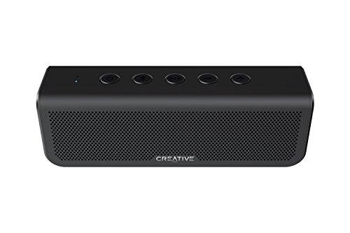 Creative Metallix Plus, tragbarer Dualtreiber Bluetooth 4.2