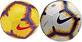 SERIE A Set Tifoso Original Nike Tim Strike Weiß 2018 2019 Größe 5 + Nike Strike Ball Gelb 18/19