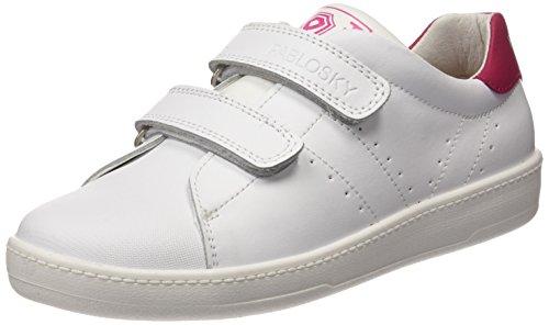 Pablosky Unisex, bambini 259608 Scarpe da Ginnastica Basse Bianco Size: 37