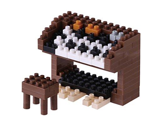 nanoblock NBC-148 - Electric Organ / Orgel, Minibaustein 3D-Puzzle, Mini Collection Serie, 100 Teile, Schwierigkeitsstufe 2, mittel