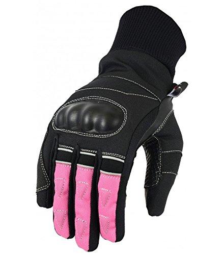 LOVO Guantes de invierno para moto Mujer S