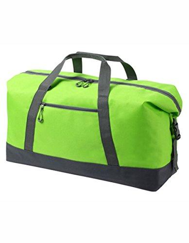 HALFAR® HF8804 Sport / Travel Bag Wing Freizeittaschen Sport- & Reisetaschen Tasche, Farbe:ORANGE apple green