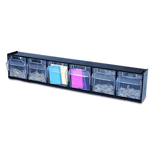 deflect-o 20604opu Kipp-Müllbehälter Kunststoff Storage System mit 6Tonnen, 23–5/20,3cm W x 3–5/20,3cm D x 4½