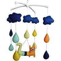 Baby-Geklapper-Spielzeug, Baby-Geschenk, Musik-Mobil [Netter Hund, Hang Geschenk preisvergleich bei kleinkindspielzeugpreise.eu
