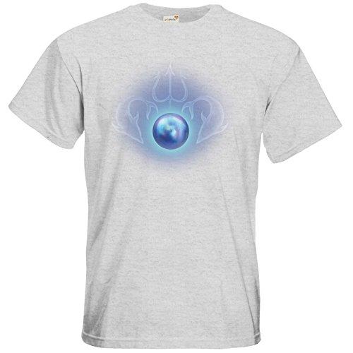 getshirts - Das Schwarze Auge - T-Shirt - Die Siebenwindküste - Götter und Dämonen - Efferdperle Ash