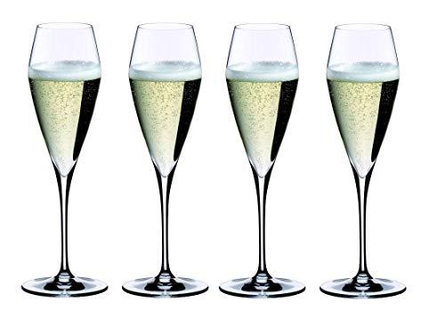 Riedel Vitis Champagner Sekt Glas 4er Set 2x 0403/08 Vorteilsset