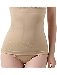 Vectry Postpartums Pantalones sin Costuras Cinturones Finos Fors Señoras Banda para la Cintura Body Hugging Pants