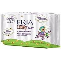 Fria Utility Baby toallitas suaves con aloe vera y propóleos para cambiar pañales y manos higiene