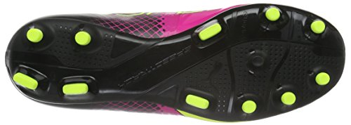 Puma Evospeed 1 5 Fg, Chaussures de Football Garçon Rose (Pink Glo/Safety Yellow/Black)