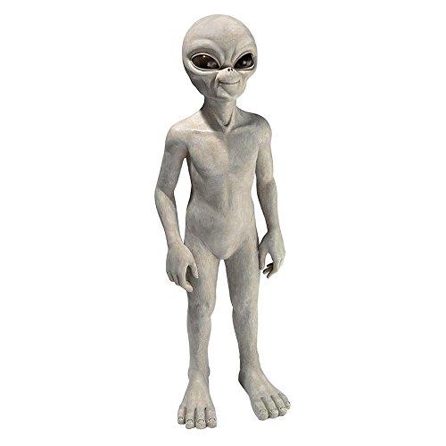 Design Toscano Halloween Medium die out-of-this-world Alien Extra Terrestrial Statue