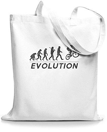 StyloBags Jutebeutel / Tasche Evolution MTB Weiß